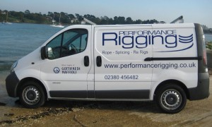 Performance Rigging Van
