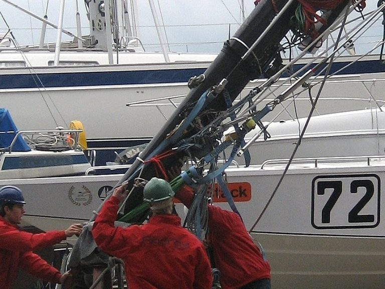 Mast Step Services Performance Rigging