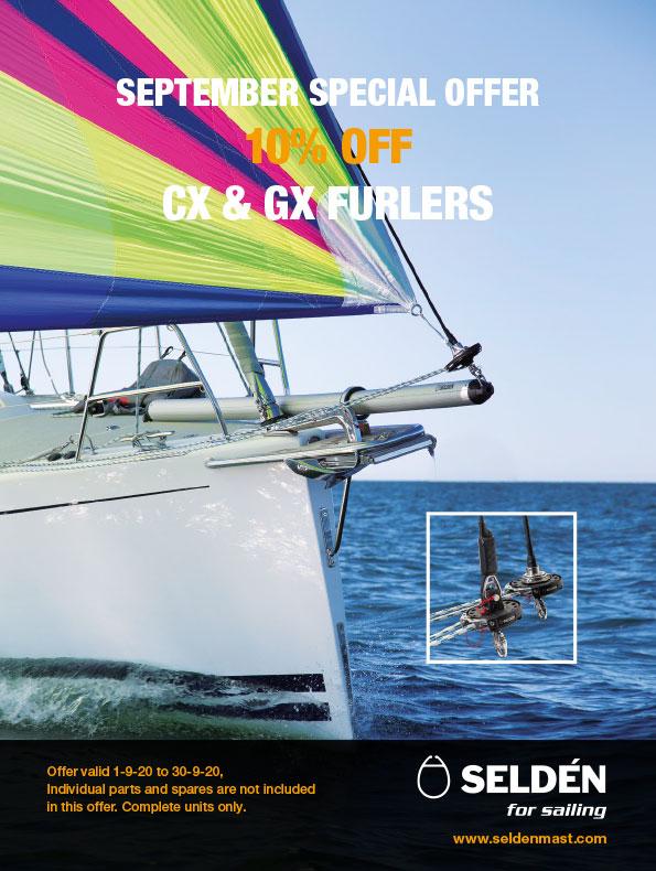 Selden September offer GX CX